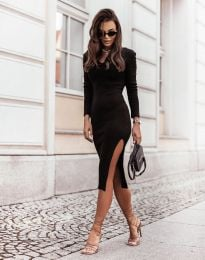 Šaty - kód 6593 - čierná