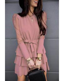 Šaty - kód 8384 - ružová