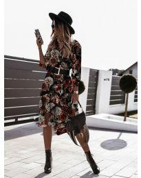 Šaty - kód 8366 - 3 - viacfarebné