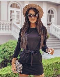 Šaty - kód 2529 - čierná