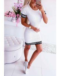 Šaty - kód 3213 - biela