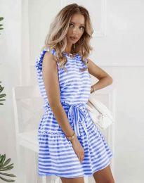 Šaty - kód 7211 - modrý