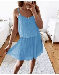 Šaty - kód 8596 - svetlo modrá