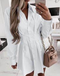 Šaty - kód 8141 - biela