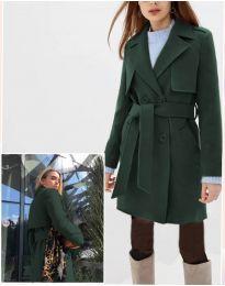 Kabát - kód 3113 - tmavě zelená