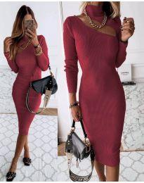 Šaty - kód 149 - bordeaux