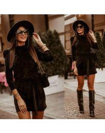 Šaty - kód 0722 - čierná