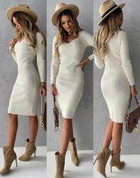 Šaty - kód 4845 - biela