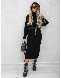 Šaty - kód 0590 - čierná