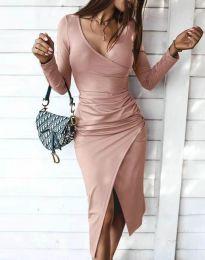 Šaty - kód 4769 - pudrová