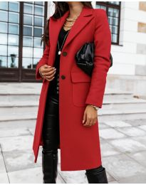 Kabát - kód 3435 - červená