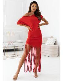 Šaty - kód 12003 - červená