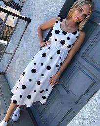 Šaty - kód 8122 - 1 - biela