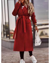Kabát - kód 7989 - červená