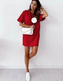 Šaty - kód 2231 - červená