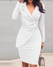 Šaty - kód 2431 - biela