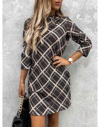Šaty - kód 9187 - 1 - viacfarebné