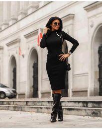 Šaty - kód 7099 - 1 - čierná