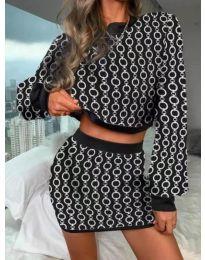 Šaty - kód 9555 - 7 - viacfarebné