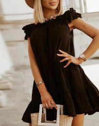 Šaty - kód 6969 - čierná