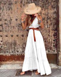 Šaty - kód 0817 - biela