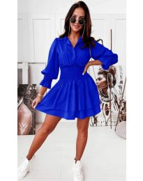 Šaty - kód 1843 - modrá