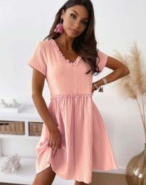 Šaty - kód 1679 - 2 - ružová