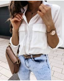 Košeľa - kód 6148 - biela