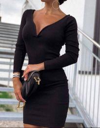 Šaty - kód 12065 - 8 - čierná