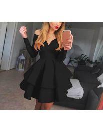 Šaty - kód 228 - čierná