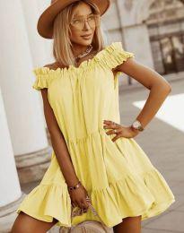 Šaty - kód 6969 - žltá