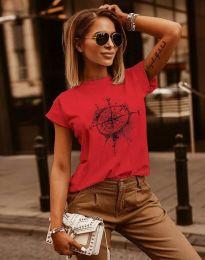 Tričko - kód 3245 - červená