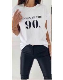Tričko - kód 947 - biela