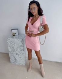 Šaty - kód 4305 - ružová