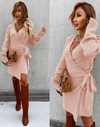 Šaty - kód 9846 - svetlo ružová
