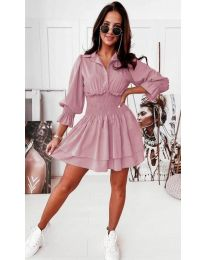 Šaty - kód 1843 - ružová