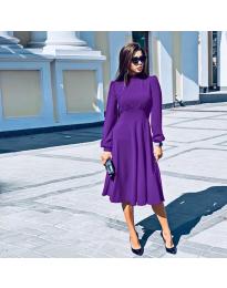 Šaty - kód 4572 - fialová
