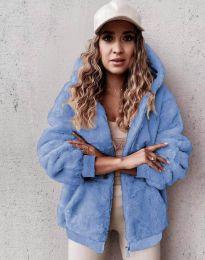 Kabát - kód 5489 - 4 - svetlo modrá