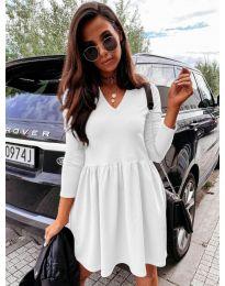 Šaty - kód 0060 - biela