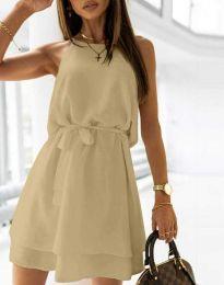 Šaty - kód 9968 - bežová