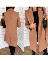 Kabát - kód 7709 - hnedá