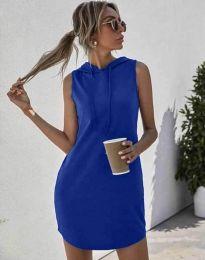 Šaty - kód 1687 - modrý