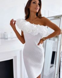 Šaty - kód 0991 - biela