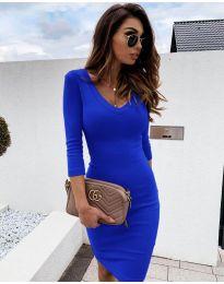 Šaty - kód 4040 - modrý