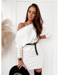 Šaty - kód 4442 - biela