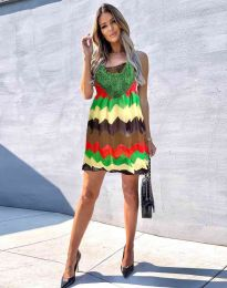 Šaty - kód 0969 - 2 - farebná