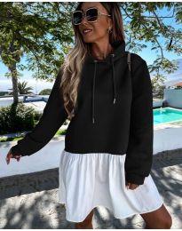 Šaty - kód 6947 - čierná
