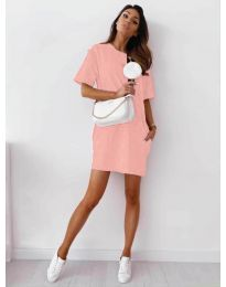 Šaty - kód 7236 - ružová