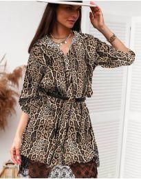 Šaty - kód 3635 - 8 - viacfarebné