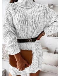 Šaty - kód 6071 - biela